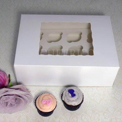 12 Window MIni Cupcake Box ($2.00/pc x 25 units)