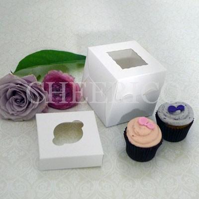 1 Window Mini Cupcake Box ($1.20/pc x 25 units)