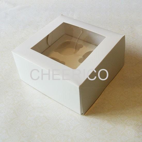 4 Cupcake Window Box ($2.30/pc x 25 units)