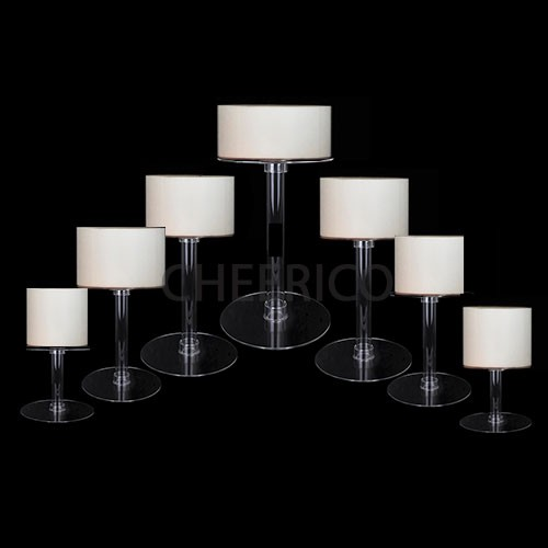 7 Tier Cascading Wedding Acrylic Cake Stands