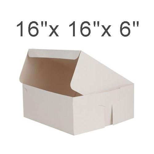 """Cake Boxes - 16"""" x 16"""" x 6"""" ($5.50/pc x 25 units)"""